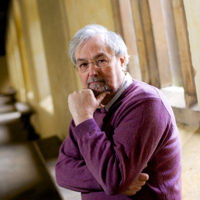 Professor Robin Dunbar, em Oxford, 24 de Fevereiro, 2015. Para Veja Paginas Amarelas. Foto Andre Camara